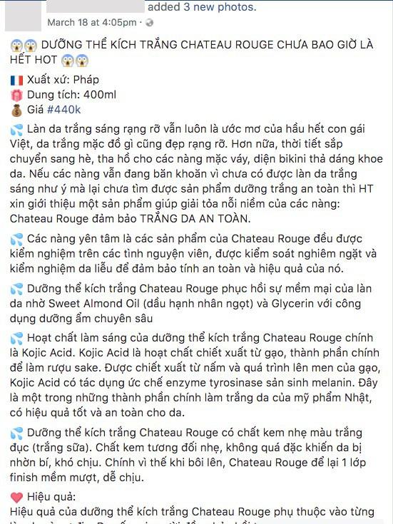 Kem dưỡng dành riêng cho người da đen và da màu của Pháp lại được tung hê hết lời như một loại kem kích trắng da ở Việt Nam? - Ảnh 8.