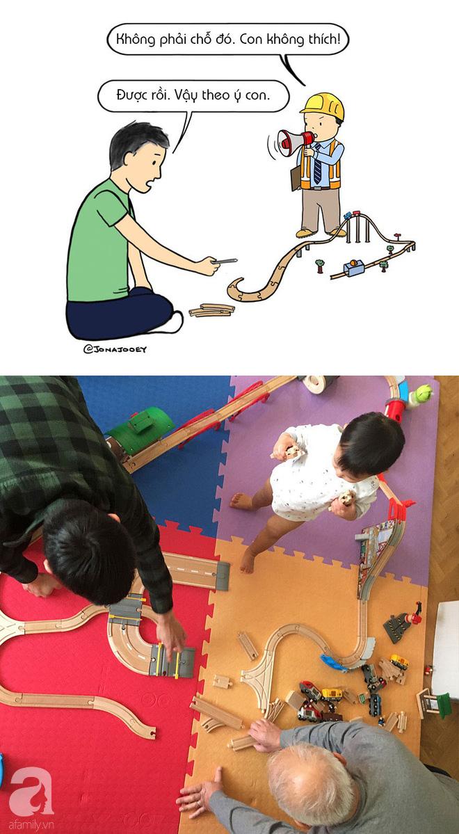 Chỉ sau một ngày đánh vật, ông bố trẻ lập tức thấm thía việc chăm sóc con nhỏ không hề đơn giản chút nào - Ảnh 3.
