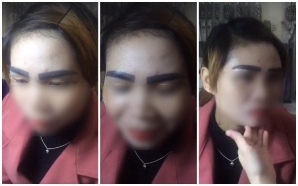 Những cặp lông mày xăm lỗi khiến chị em mê làm đẹp nhìn thấy là thất kinh  sợ hãi - Ảnh 8.
