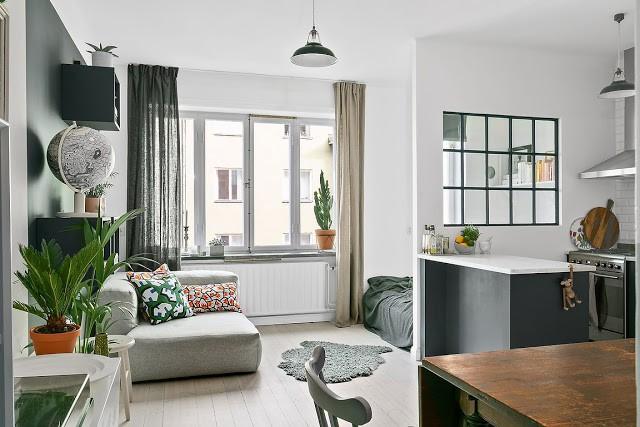 Khám phá cách cải tạo căn hộ tuy nhỏ nhưng lại đem lại vẻ thoải mái và tiện dụng cho cả gia đình - Ảnh 1.