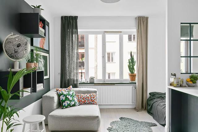 Khám phá cách cải tạo căn hộ tuy nhỏ nhưng lại đem lại vẻ thoải mái và tiện dụng cho cả gia đình - Ảnh 2.