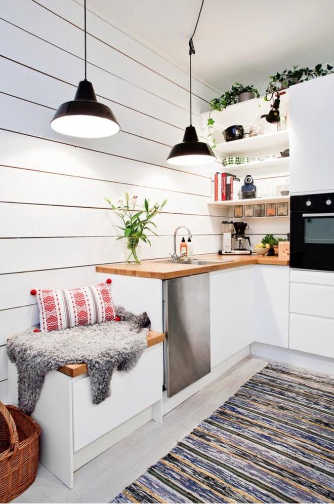 Những căn bếp với diện tích chưa đến 10m² nhưng nhờ sử dụng gam màu này lại trở nên rộng thênh thang và đẹp bất ngờ - Ảnh 6.