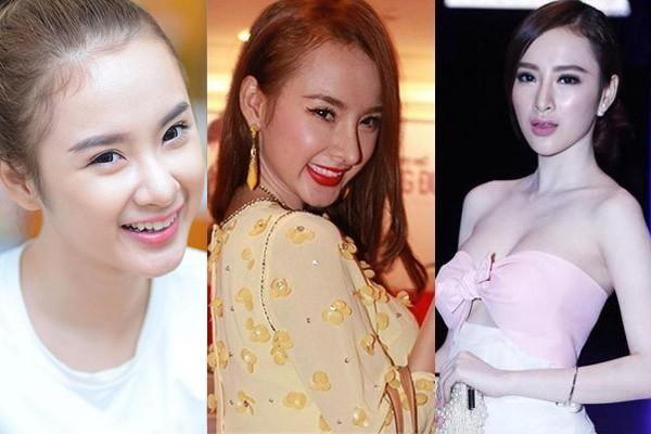 3 người đẹp sàn sàn tuổi nhau: Kỳ Duyên, Angela Phương Trinh và Nam Em: sau những nghi án thẩm mỹ liên tiếp, hiện giờ nhan sắc ra sao - Ảnh 11.