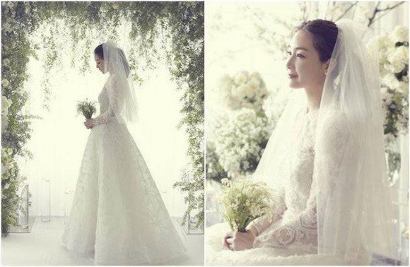 Chồng mới cưới của Choi Ji Woo đã nói 4 từ này sau đám cưới bí mật - Ảnh 2.
