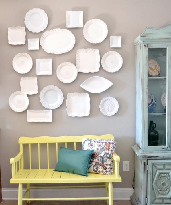 Trang trí tường bằng đĩa vừa rẻ vừa dễ, lại có thể kết hợp được với bất cứ dạng nội thất nào, tại sao bạn không thử? - Ảnh 12.