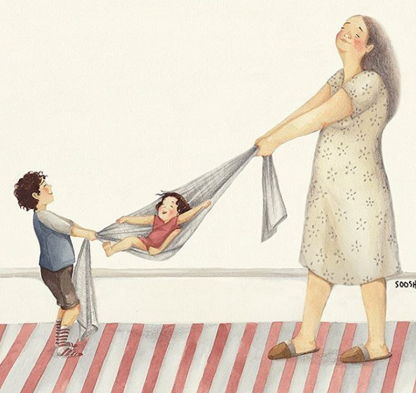 Ngày của Mẹ: Cùng ngắm bộ tranh về những điều thiêng liêng nhất dành cho con nhưng chưa bao giờ mẹ kể  - Ảnh 4.
