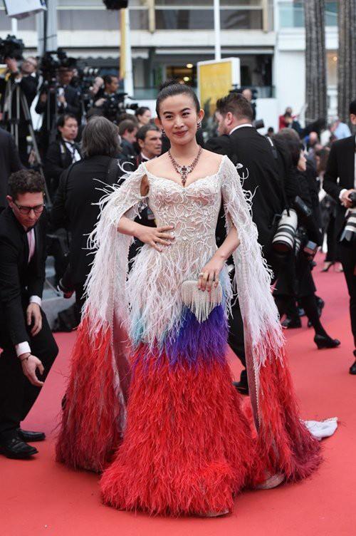 Những lần náo loạn thảm đỏ Cannes của sao Hoa ngữ: Từ mỹ nhân hạng A đến người đẹp vô danh chiêu trò đủ kiểu khiến truyền thông ngao ngán - Ảnh 13.