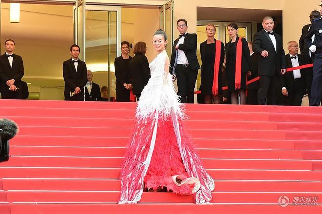 Những lần náo loạn thảm đỏ Cannes của sao Hoa ngữ: Từ mỹ nhân hạng A đến người đẹp vô danh chiêu trò đủ kiểu khiến truyền thông ngao ngán - Ảnh 14.