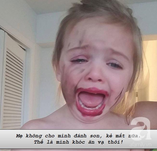 """Những lí do """"trên trời"""" khiến các bé khóc lóc ăn vạ còn mẹ thì phải """"bó tay"""" - Ảnh 2."""