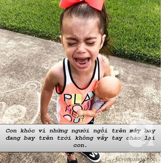 """Những lí do """"trên trời"""" khiến các bé khóc lóc ăn vạ còn mẹ thì phải """"bó tay"""" - Ảnh 8."""