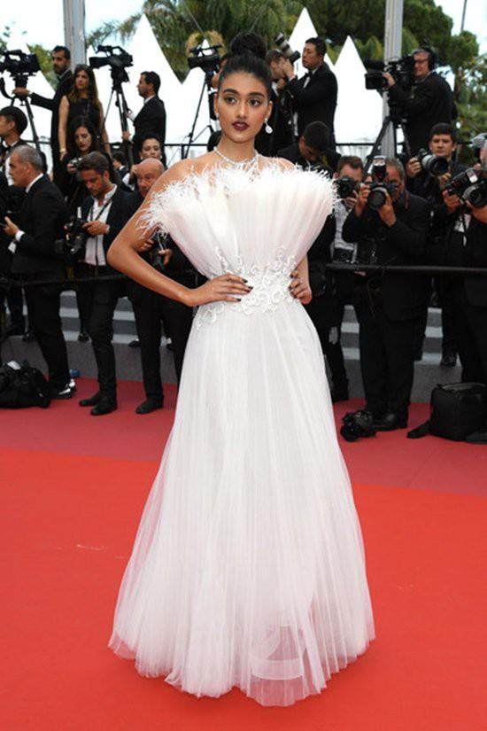 Gần ngày bế mạc nhưng thảm đỏ Cannes vẫn tiếp tục những màn khoe ngực, chơi trội bằng váy áo cồng kềnh, tóc búi rơm - Ảnh 5.