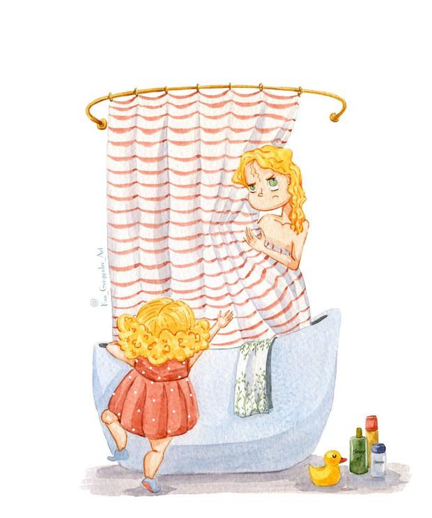 Bộ tranh: Khi trong nhà có một cô con gái nhỏ, mọi thứ đều tự động trở nên đáng yêu như thế này đây! - Ảnh 2.