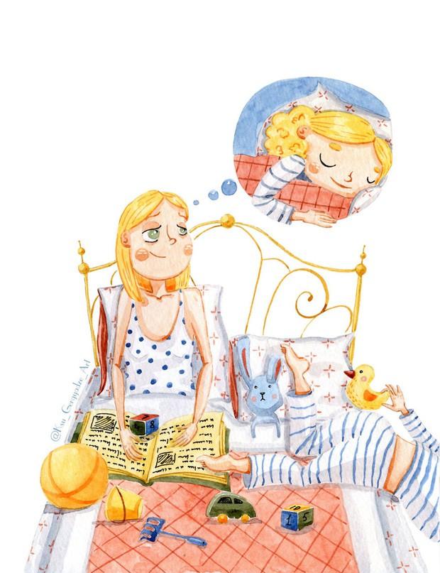 Bộ tranh: Khi trong nhà có một cô con gái nhỏ, mọi thứ đều tự động trở nên đáng yêu như thế này đây! - Ảnh 3.