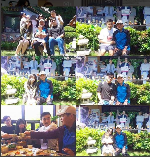 Bố Song Joong Ki hạnh phúc khoe chuyện con dâu Song Hye Kyo về quê ăn thịt nướng cùng gia đình nhà chồng - Ảnh 1.