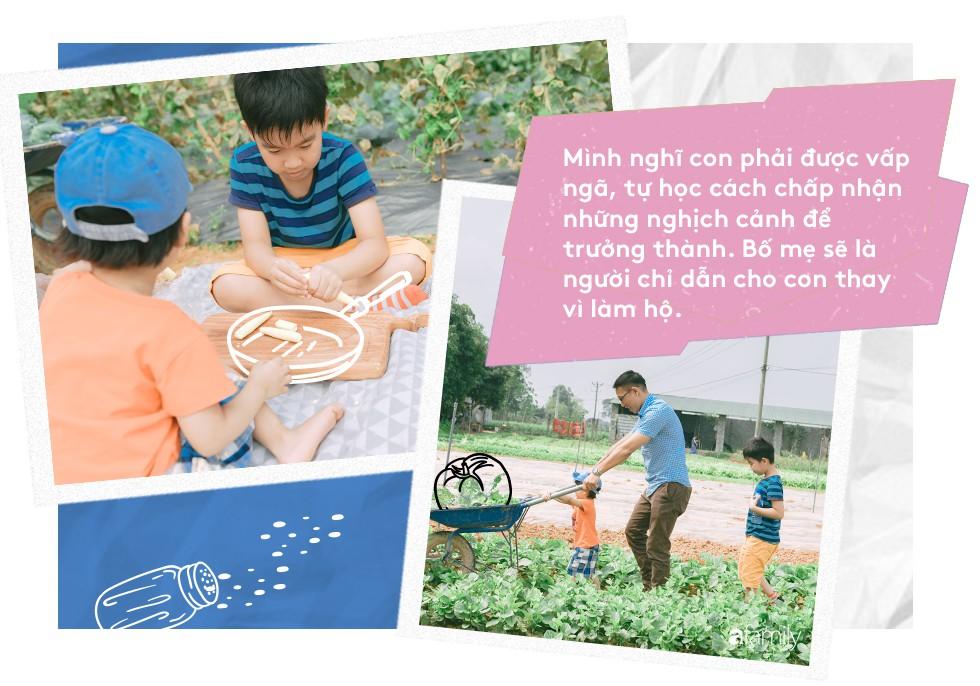 Chef Nguyễn Mạnh Hùng: Ông bố bỏ việc ở nhà hàng 5 sao để về làm đầu bếp cho các con mỗi ngày - Ảnh 9.
