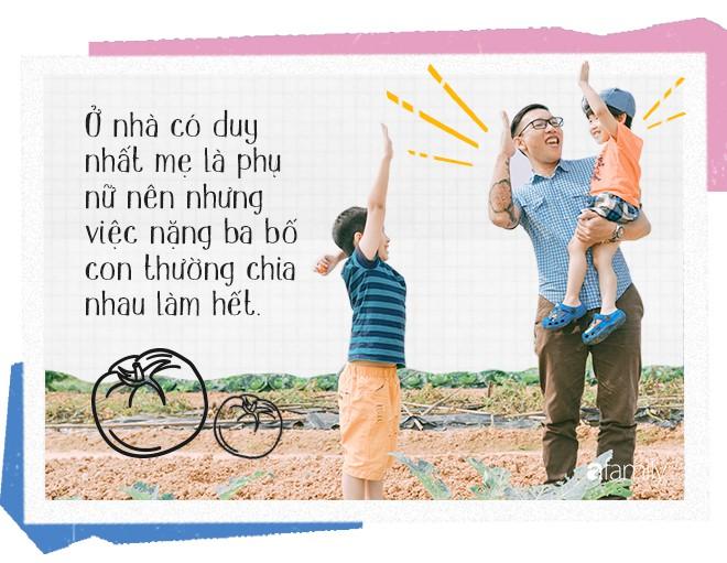 Chef Nguyễn Mạnh Hùng: Ông bố bỏ việc ở nhà hàng 5 sao để về làm đầu bếp cho các con mỗi ngày - Ảnh 5.