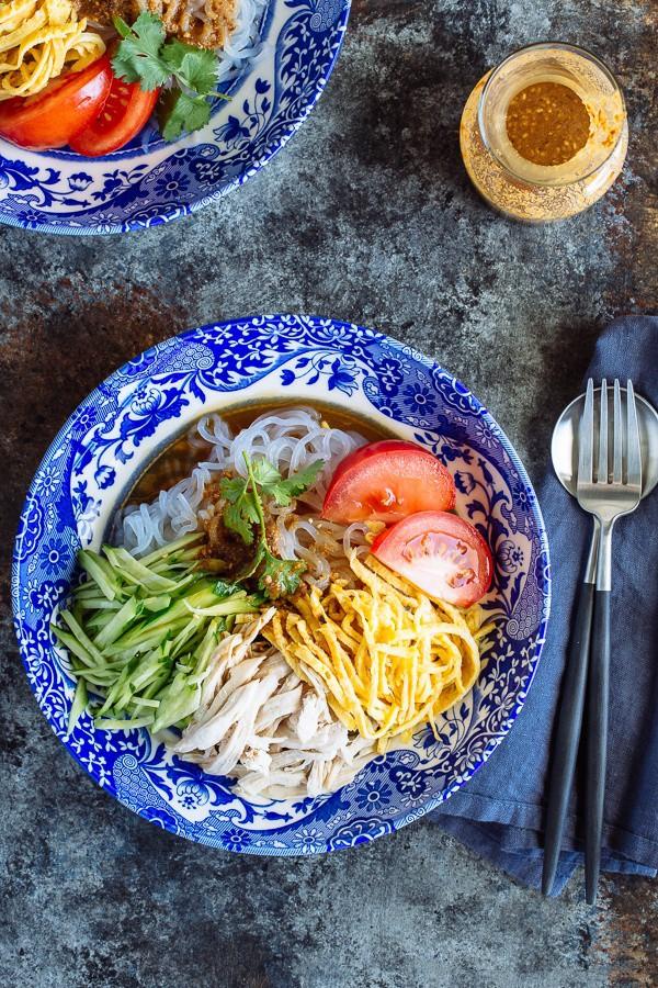 Miến gà trộn kiểu Nhật cho bữa trưa thanh mát - Ảnh 6.