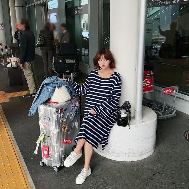 thời trang bầu Hàn Quốc