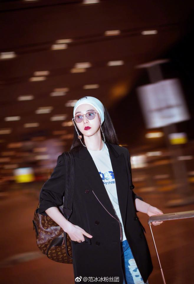 Nữ hoàng thảm đỏ Phạm Băng Băng tất bật ra sân bay lúc 2h sáng để chuẩn bị đến với  LHP Cannes - Ảnh 5.