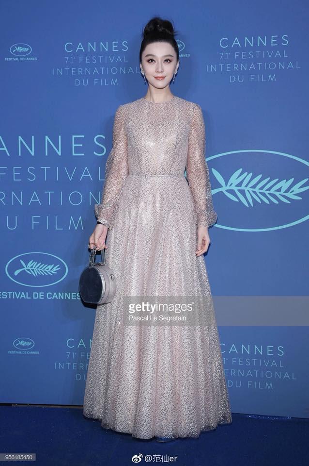 Cận cảnh nhan sắc không qua photoshop của Phạm Băng Băng tại tiệc mừng LHP Cannes - Ảnh 2.