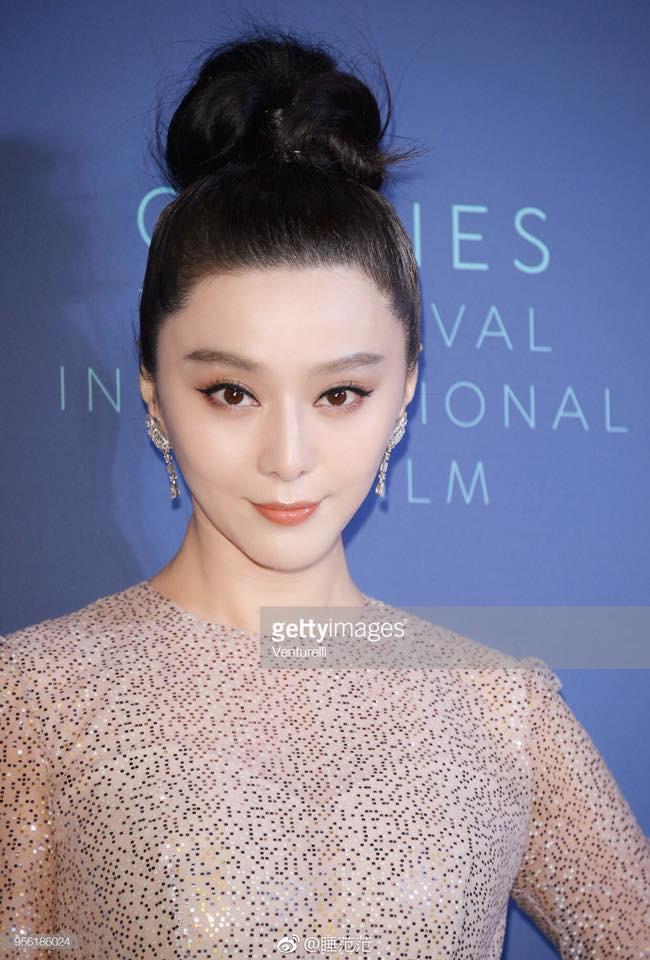 Cận cảnh nhan sắc không qua photoshop của Phạm Băng Băng tại tiệc mừng LHP Cannes - Ảnh 5.