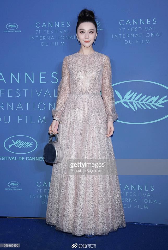 Cận cảnh nhan sắc không qua photoshop của Phạm Băng Băng tại tiệc mừng LHP Cannes - Ảnh 6.