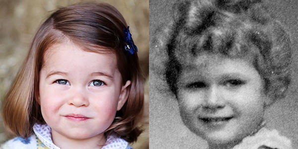 Chả trách Công chúa Charlotte lại có thần thái xuất chúng đến như vậy, hóa ra cô bé chính là bản sao hoàn hảo của Nữ hoàng - Ảnh 1.