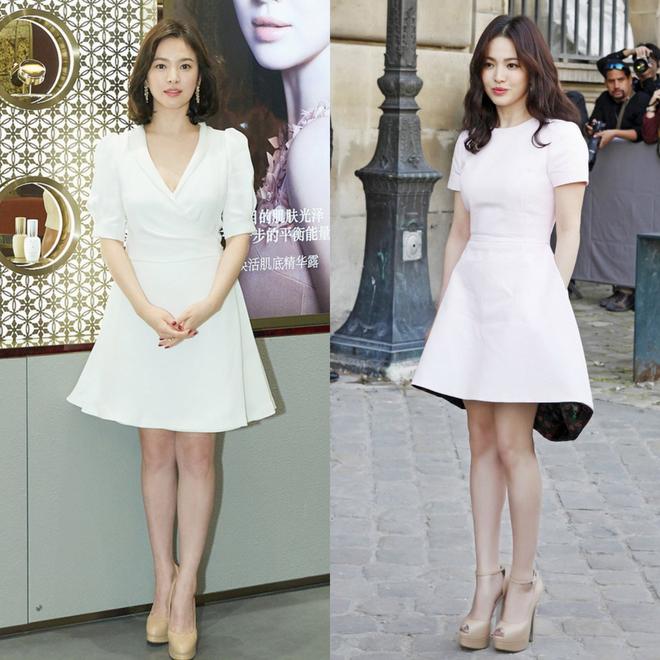 Nhan sắc Song Hye Kyo và nữ chính tin đồn Hậu Duệ Mặt Trời Nhã Phương: Chưa nhận vai đã bị đặt lên bàn cân - Ảnh 14.