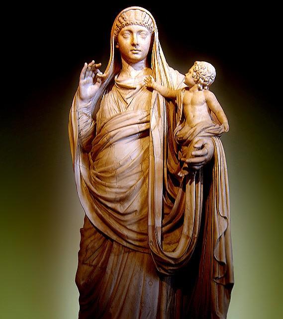 Chuyện thật mà tưởng đùa: Hoàng hậu La Mã chê chồng, đêm đêm rời hoàng cung đi tiếp khách làng chơi - Ảnh 1.