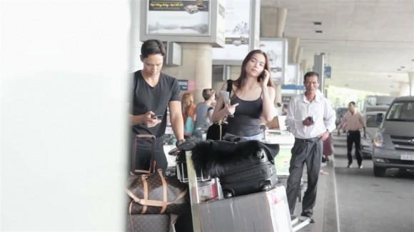Hồ Ngọc Hà để mặt mộc cùng Kim Lý trở về Việt Nam - Ảnh 2.