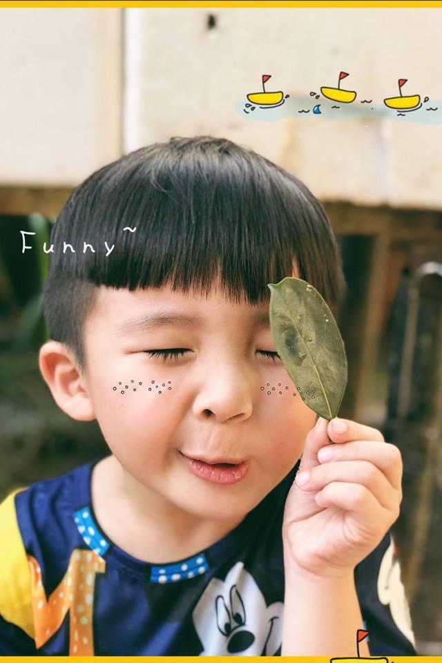 Cậu bé siêu đáng yêu với loạt biểu cảm khó đỡ khiến ai cũng chỉ muốn bắt về nuôi - Ảnh 1.