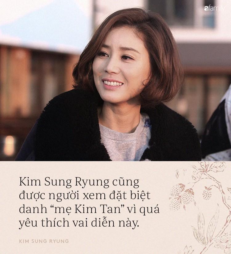 """""""Mẹ Kim Tan"""" Kim Sung Ryung: Trái tim nhân hậu, hạnh phúc bình yên chính là thần dược đánh bại thời gian - Ảnh 3."""