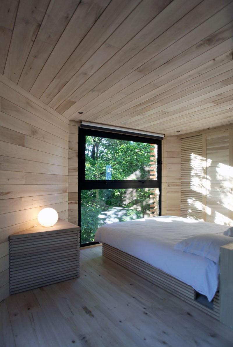 Ngôi nhà trên cây nằm giữa rừng xanh có đầy đủ tiện nghi như khách sạn - Ảnh 6.