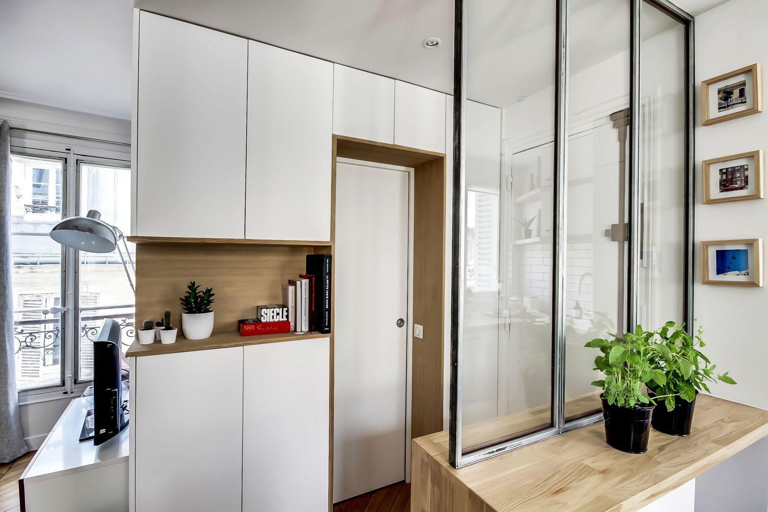 Sau cải tạo, căn hộ 38m² đẹp hoàn hảo mọi góc nhìn   - Ảnh 3.