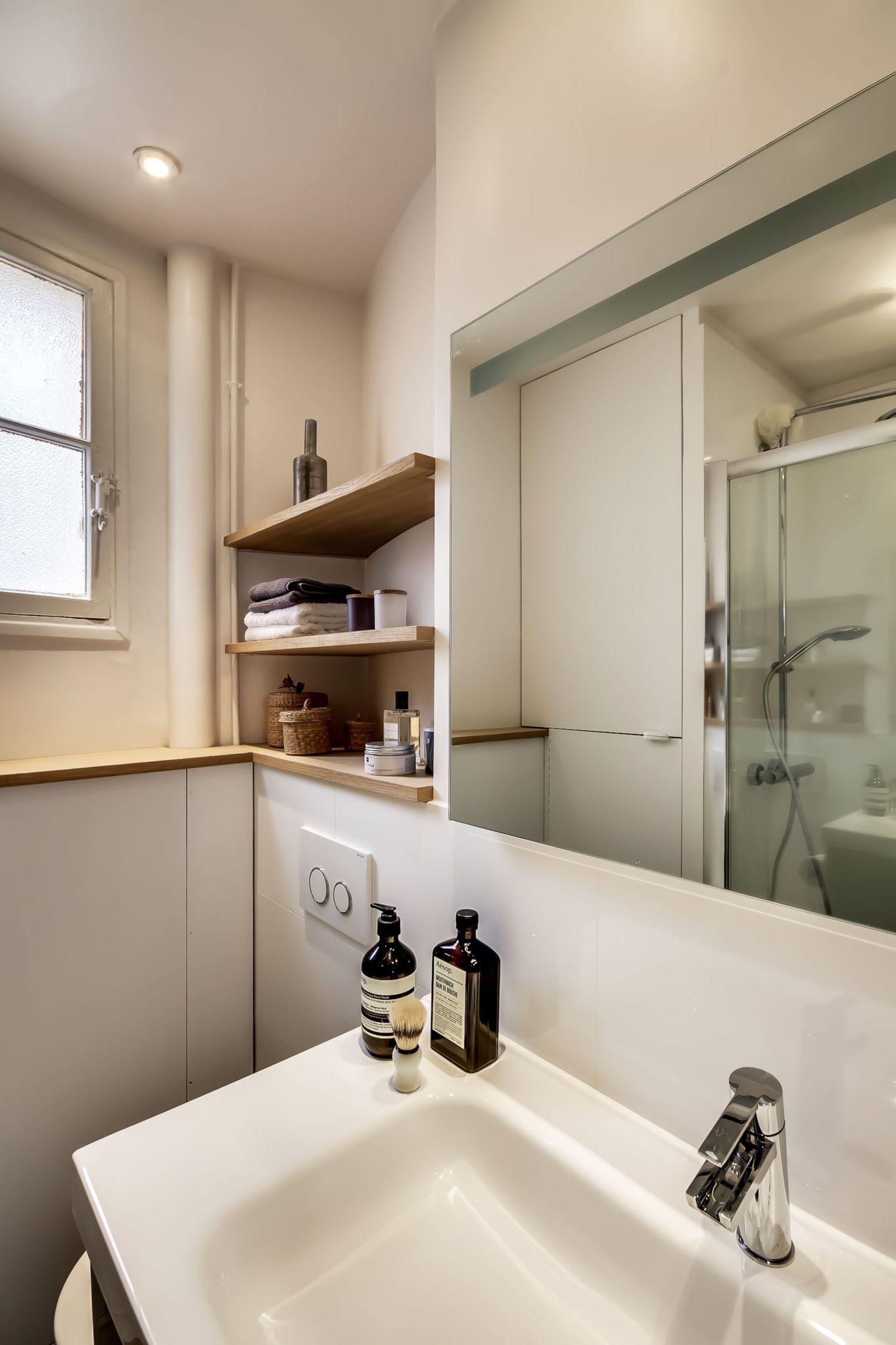 Sau cải tạo, căn hộ 38m² đẹp hoàn hảo mọi góc nhìn   - Ảnh 12.