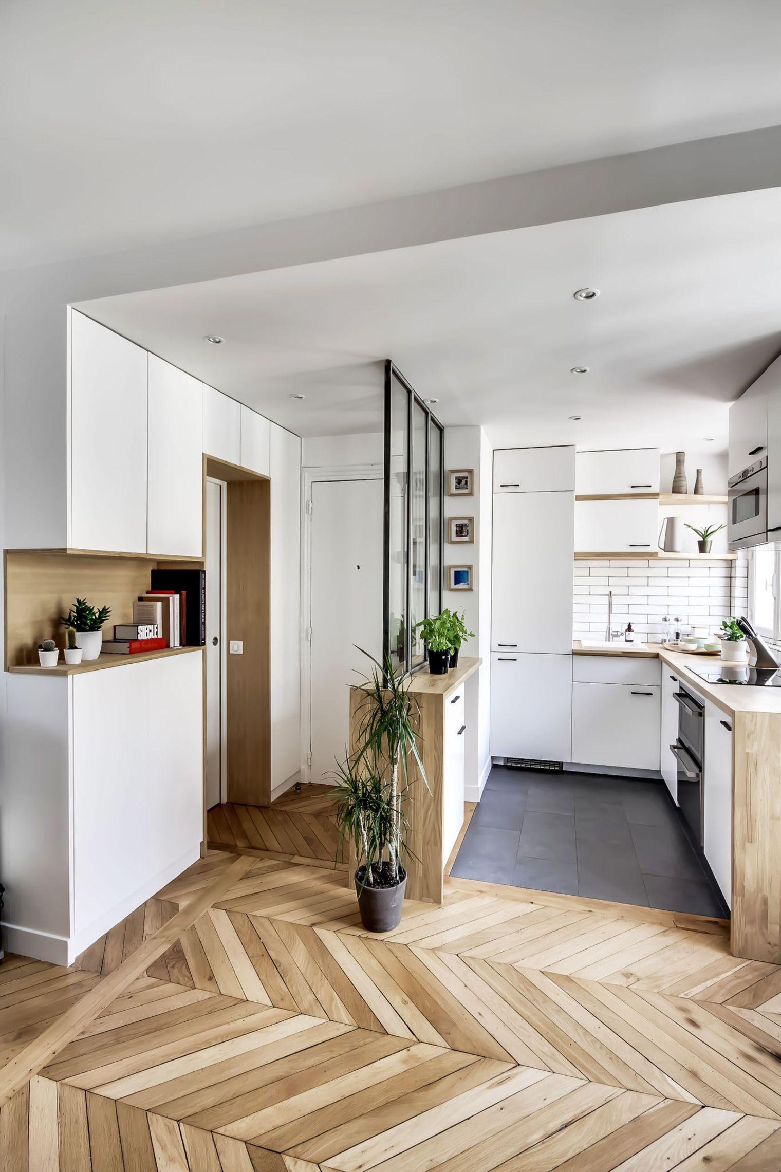 Sau cải tạo, căn hộ 38m² đẹp hoàn hảo mọi góc nhìn   - Ảnh 4.