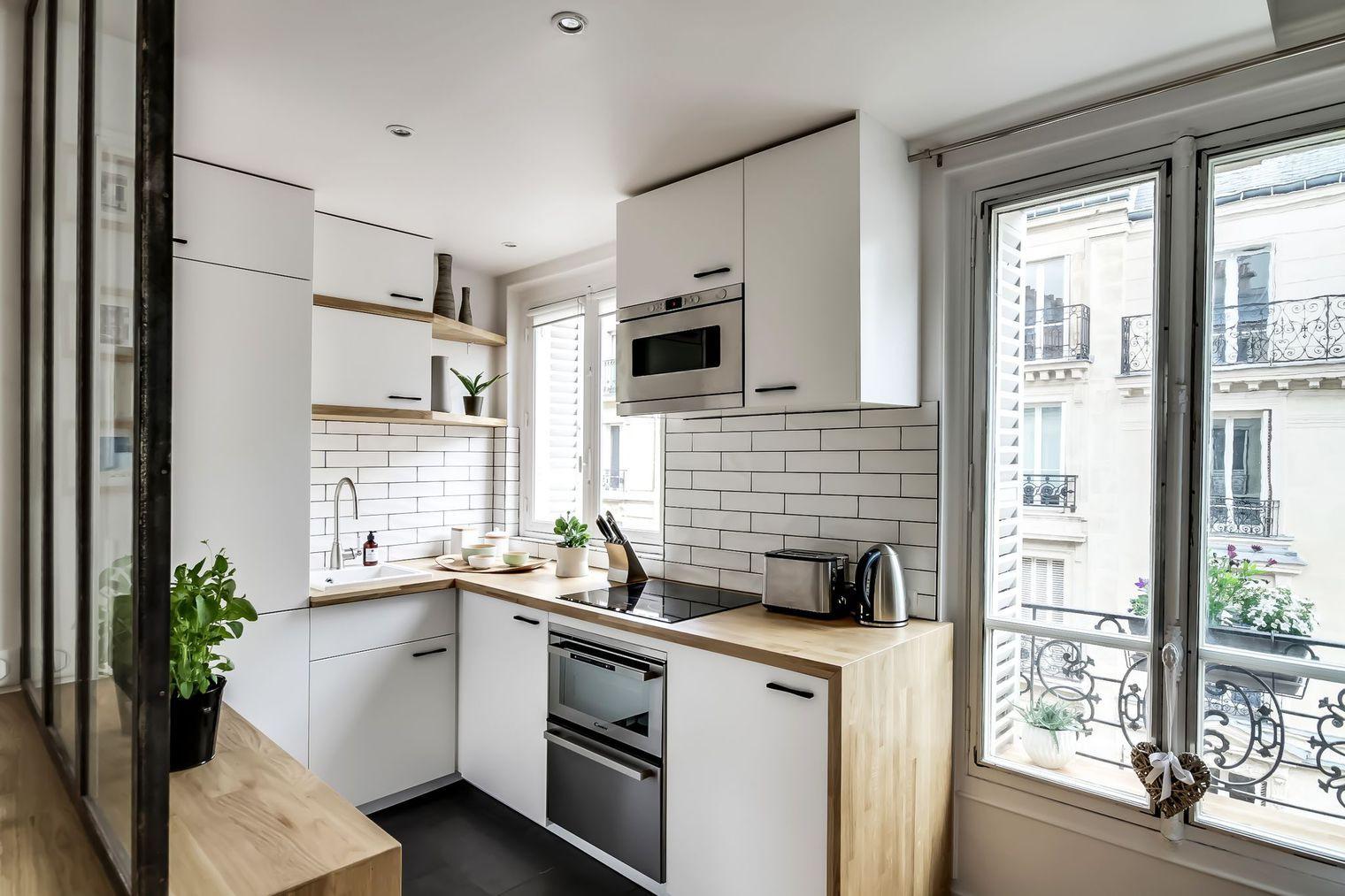 Sau cải tạo, căn hộ 38m² đẹp hoàn hảo mọi góc nhìn   - Ảnh 5.