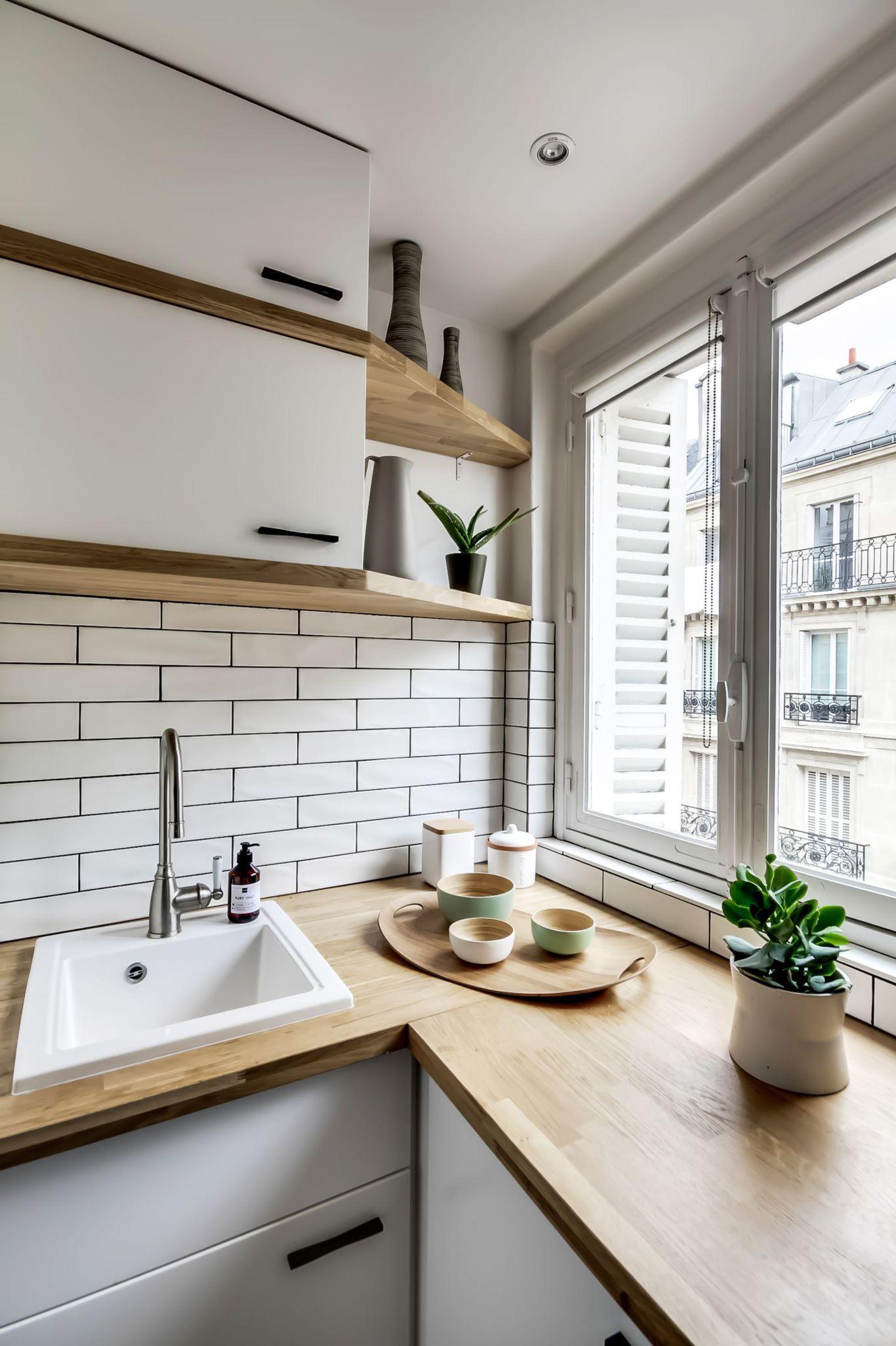 Sau cải tạo, căn hộ 38m² đẹp hoàn hảo mọi góc nhìn   - Ảnh 7.