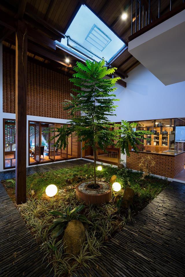 Ngôi nhà mái ngói cấp 4 đẹp như resort khiến nhiều người ước mơ ở Lâm Đồng - Ảnh 8.