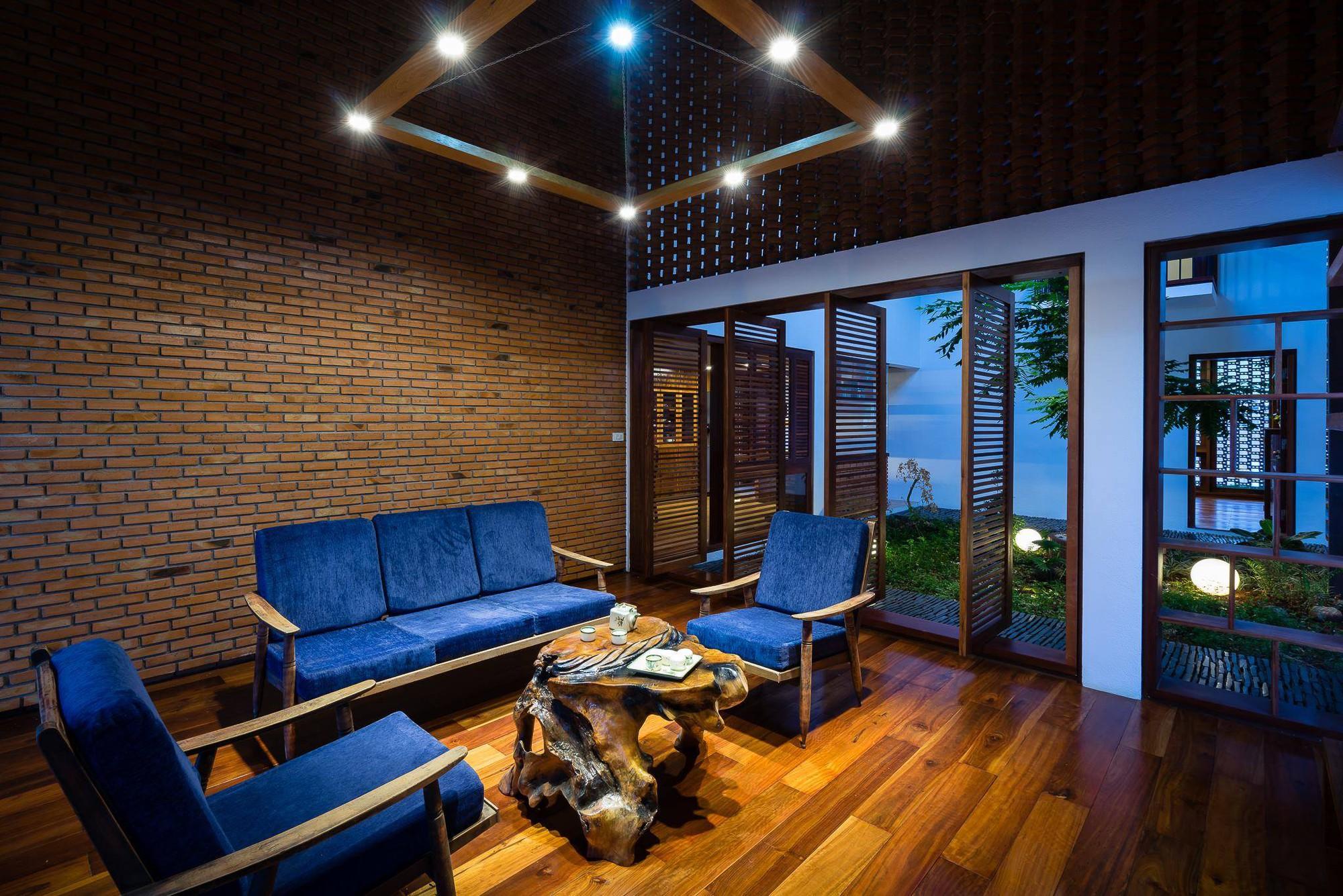 Ngôi nhà mái ngói cấp 4 đẹp như resort khiến nhiều người ước mơ ở Lâm Đồng - Ảnh 6.