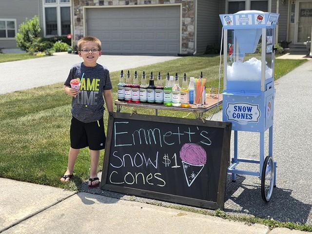 Ông bố dạy con bài học đầu tiên về tiền bạc, không ngờ cậu bé lại kinh doanh thành công ngay từ khi 6 tuổi - Ảnh 7.