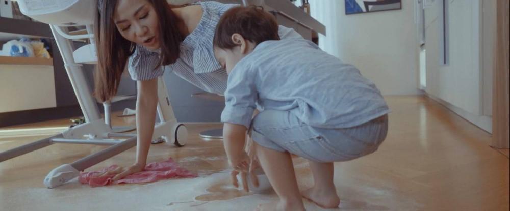 Mẹ bỉm sữa Thu Minh hé lộ những hình ảnh chăm sóc con trai đáng yêu - Ảnh 3.