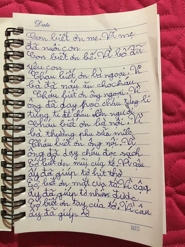 Thanh Vân Hugo khoe bức thư ngọt ngào con trai viết, không tin nổi cậu bé từng sang chấn tâm lý vì chứng kiến bố mẹ cãi nhau - Ảnh 4.