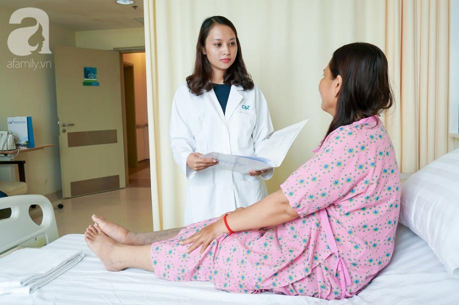 Người phụ nữ bị phù nề chân suốt 30 năm, đau đớn vô cùng vì căn bệnh mà ngày nay rất nhiều người trẻ mắc phải - Ảnh 1.