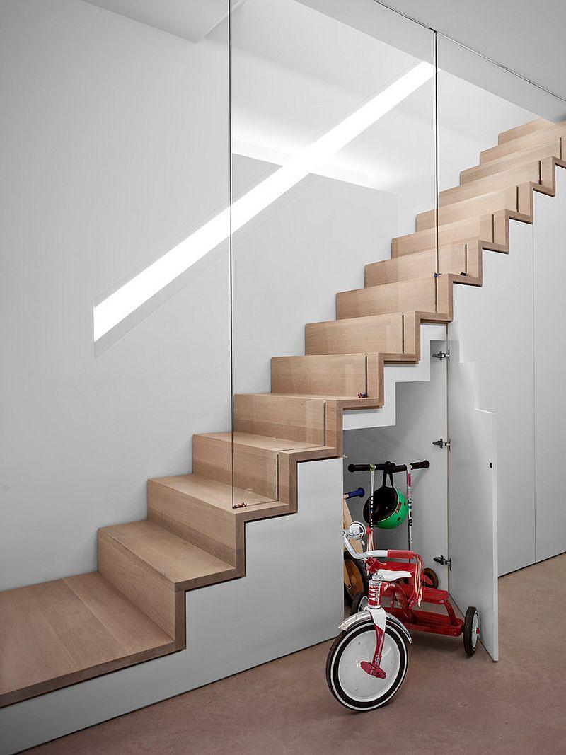Những ý tưởng cực sáng tạo giúp bạn lưu trữ dưới gầm cầu thang hiệu quả - Ảnh 8.