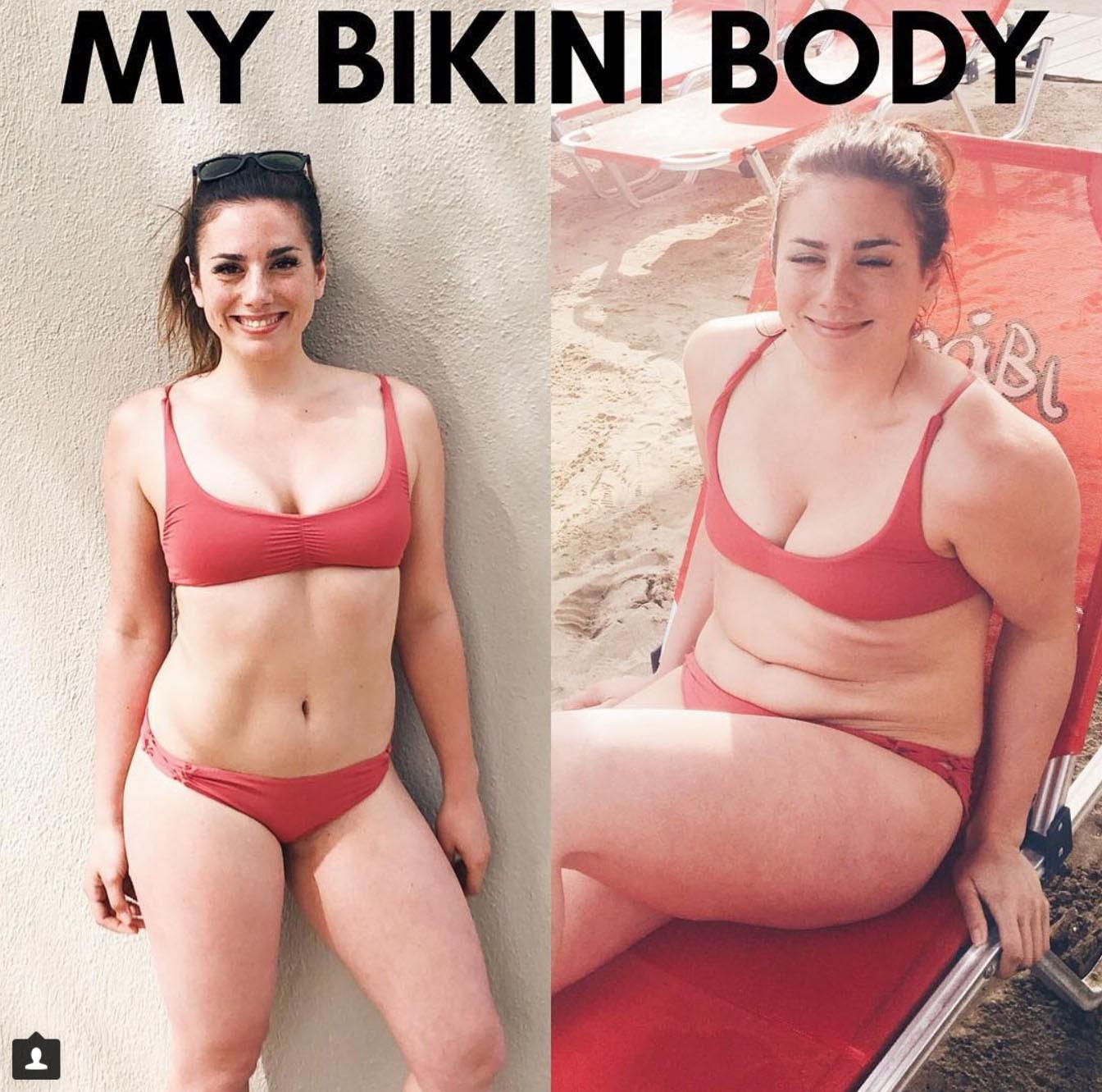 Cả thế giới đổ xô đi tập luyện để có thân hình gọn gàng, cô gái này làm điều ngược lại bởi những lý do rất tuyệt vời - Ảnh 1.