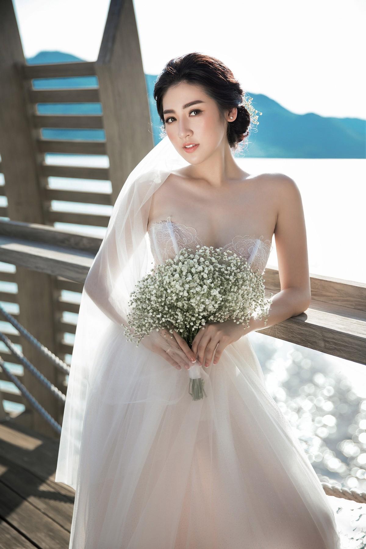 Trước ngày cưới 2 ngày, Á hậu Tú Anh khoe loạt ảnh cưới sang chảnh ngoài biển - Ảnh 2.