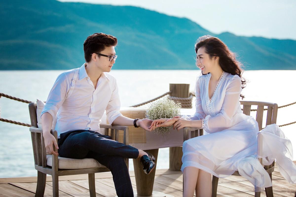Trước ngày cưới 2 ngày, Á hậu Tú Anh khoe loạt ảnh cưới sang chảnh ngoài biển - Ảnh 6.