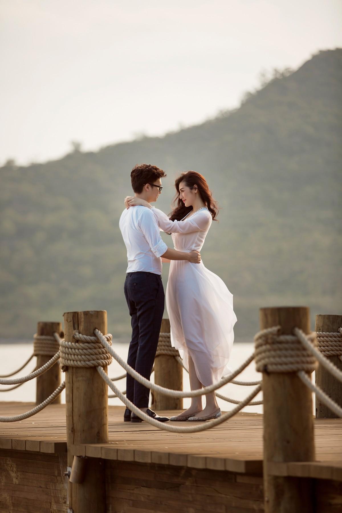 Trước ngày cưới 2 ngày, Á hậu Tú Anh khoe loạt ảnh cưới sang chảnh ngoài biển - Ảnh 7.