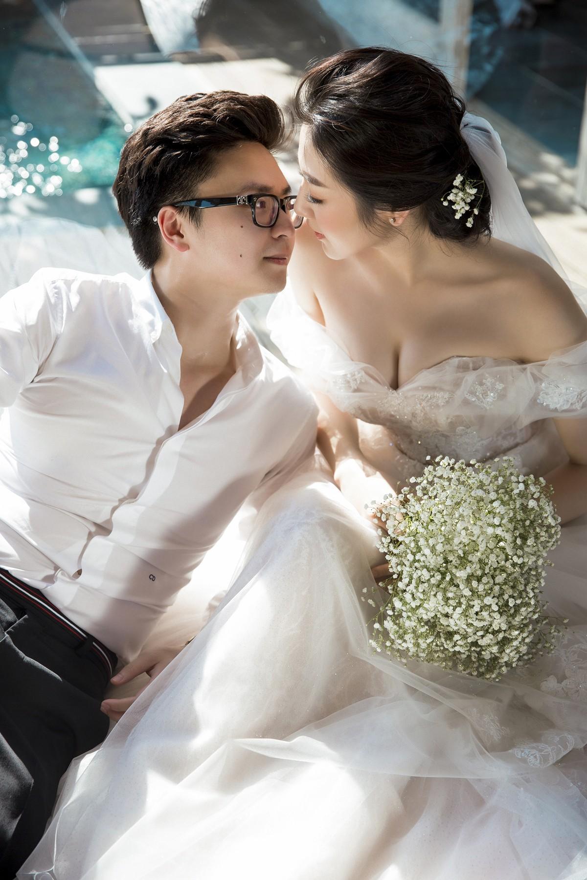 Trước ngày cưới 2 ngày, Á hậu Tú Anh khoe loạt ảnh cưới sang chảnh ngoài biển - Ảnh 10.